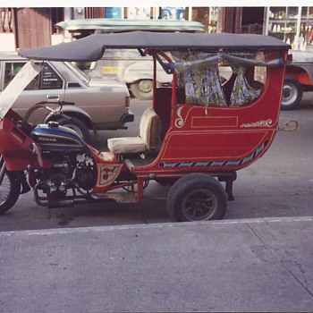 another type of philippine transport - Motorcycles