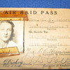 WWII Era Air Raid Pass