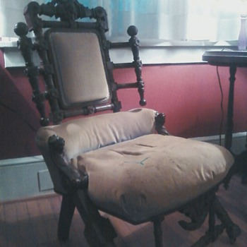 Anyone know about this odd chair?