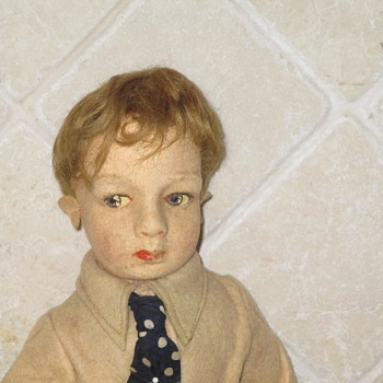 Vintage Male Doll - Additional Pictures  - Dolls