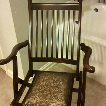 My favorite wooden folding chair