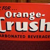 Original Orange Crush Soda Sign