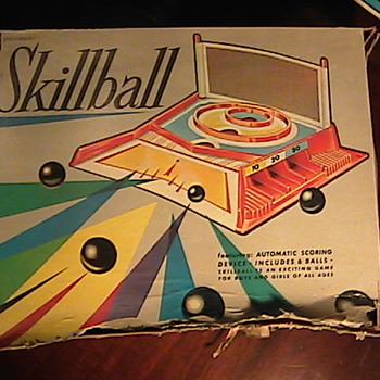 Vintage 70's Skillball Game - Games