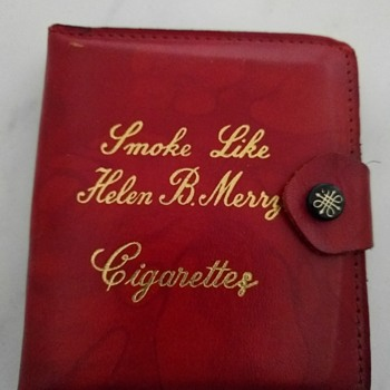My granny's old cigarette case - Tobacciana