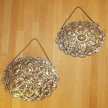 Turkish Wedding Mirrors - Antique?