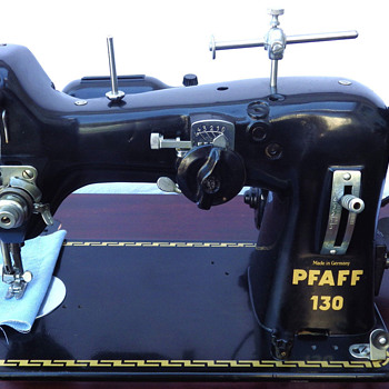 Pfaff 130 Estate sale find - Sewing