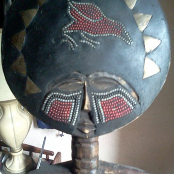 African Fertility Doll