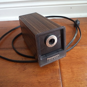 Vintage Panasonic Electric Pencil Sharpener - Office