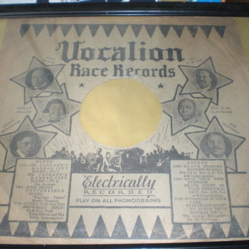 Vocalion Rare Blues Sleeve