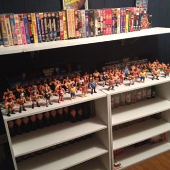 WWF Hasbro Figures - Toys