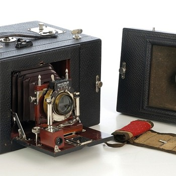 Al-Vista 5-F Convertible Panoramic Camera, c.1901-1910 - Cameras