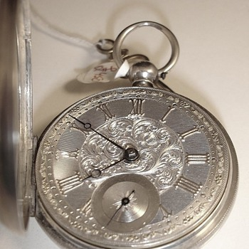 English Lever Fusee Watch 1872