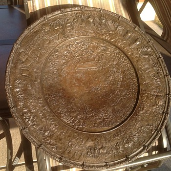 Bronze Basin commemoration of Charles V's conquest of Tunis in 1535