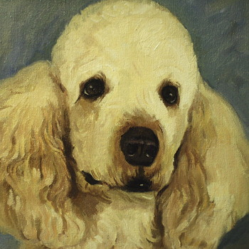 "Poodle Painting""XX Century"""