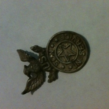 Son In Service Pin? - Military and Wartime