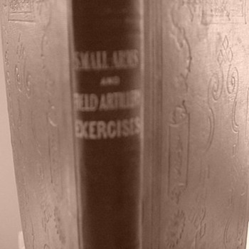 """Small Arms and Field Artillery Exercises"" 1852  - Books"