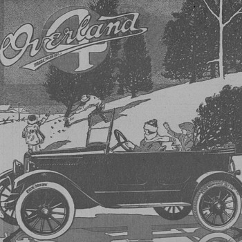1919 - Willys-Overland Advertisement