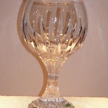 Huge Baccarat Massena Chalice? Please help - Art Glass