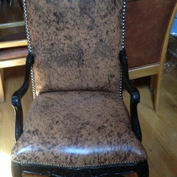 Chair given away when neighbor moved