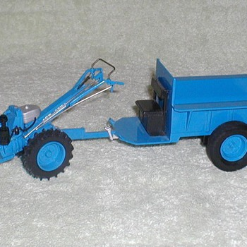 1998 Chinese Chuk-Chuk Tractor - Toys