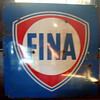 FINA Porcelain Sign