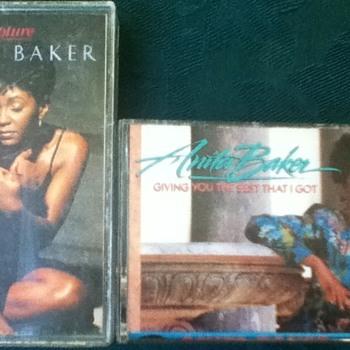 Anita Baker Cassette Tapes
