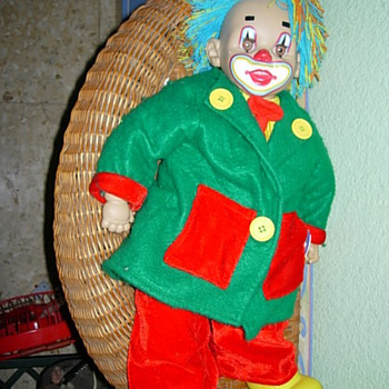 &#039;Payasete&#039; Clown doll by Arias - Dolls
