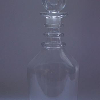 Georgian Decanter - Art Glass