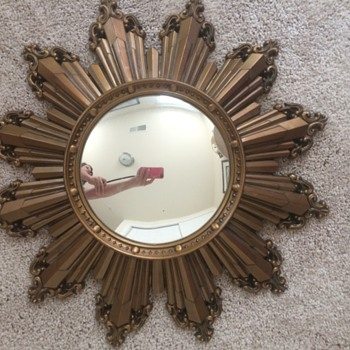 Very cool looking mirror found at thrift store