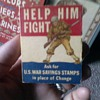 Cigarette Pack Matches WWII