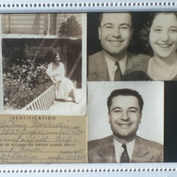 1930s Family Collage