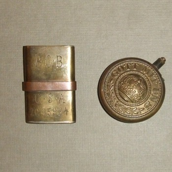 WW1 Trench Art Lighters
