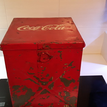 French Coke cooler 1960?