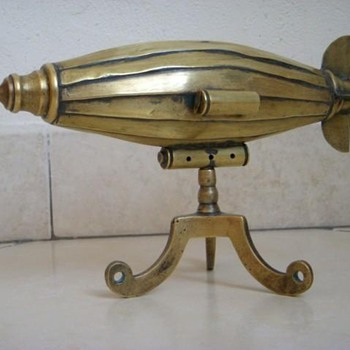 Trench Art Zeppelin from WW1