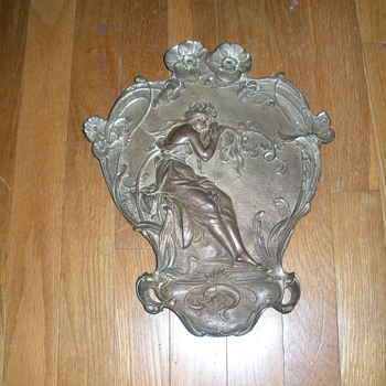 "My ""Garden Plaque""--Information Wanted! - Art Nouveau"