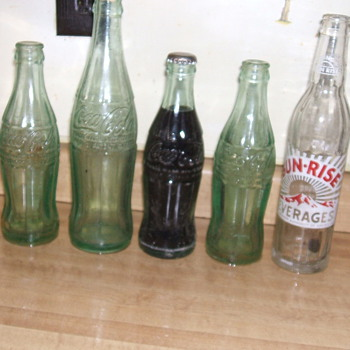 A couple of Coke Bottles