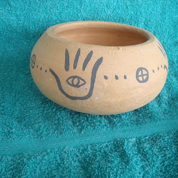 Hand Eye Bowl - Pottery