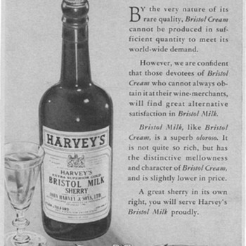 1953 Harvey's Bristol Advertisement - Advertising