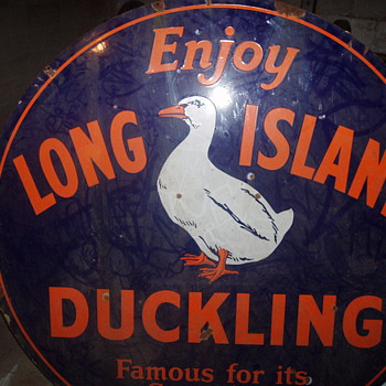 long island antique duck sign - Signs
