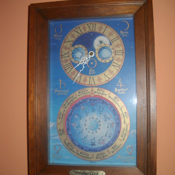 Astrology Clock - Clocks