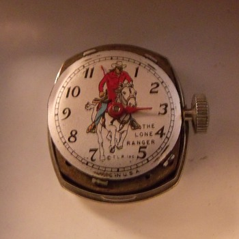Everbite Lone Ranger Wrist Watch Circa 1951 - Wristwatches