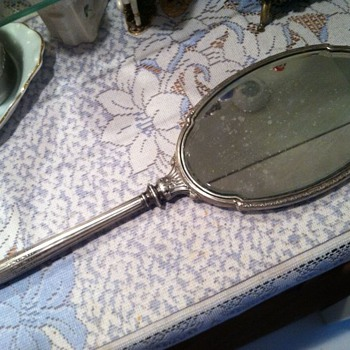 Mystery Hand Mirror - Sterling Silver