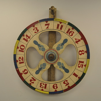 Vintage Spinning Wheel Game