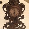 Victorian Brass Cherub Clock Case