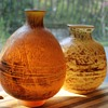 Two vases by Kurata Japan