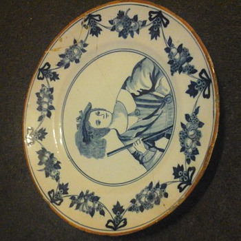 delft plate ? - Art Pottery