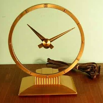 "My ""Golden Hour"", Jeffersonian Clock Co. clock - Clocks"