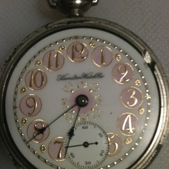 Grade 928 Hamilton Pocket watch