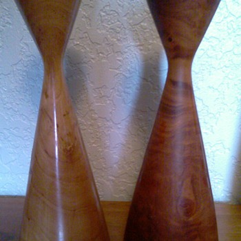 Danish Modern Style Candle Holders
