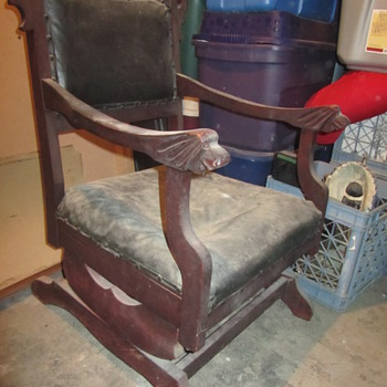 Platform Rocker Family Heirloom - Furniture